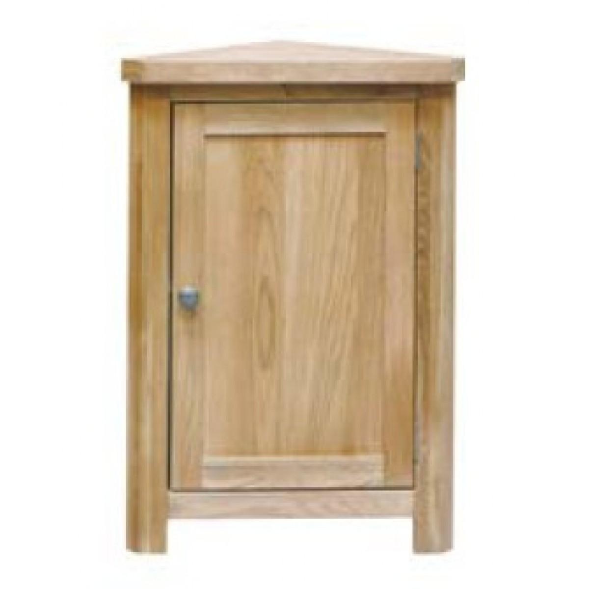 Corner Unit Small Lounge Solid Oak
