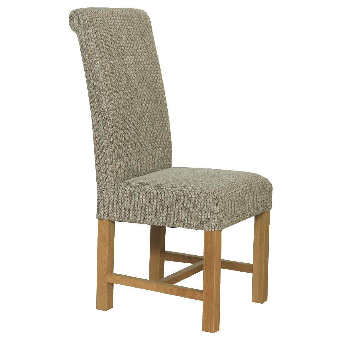 Large fabric dining chair dining chairs for Large dining chairs