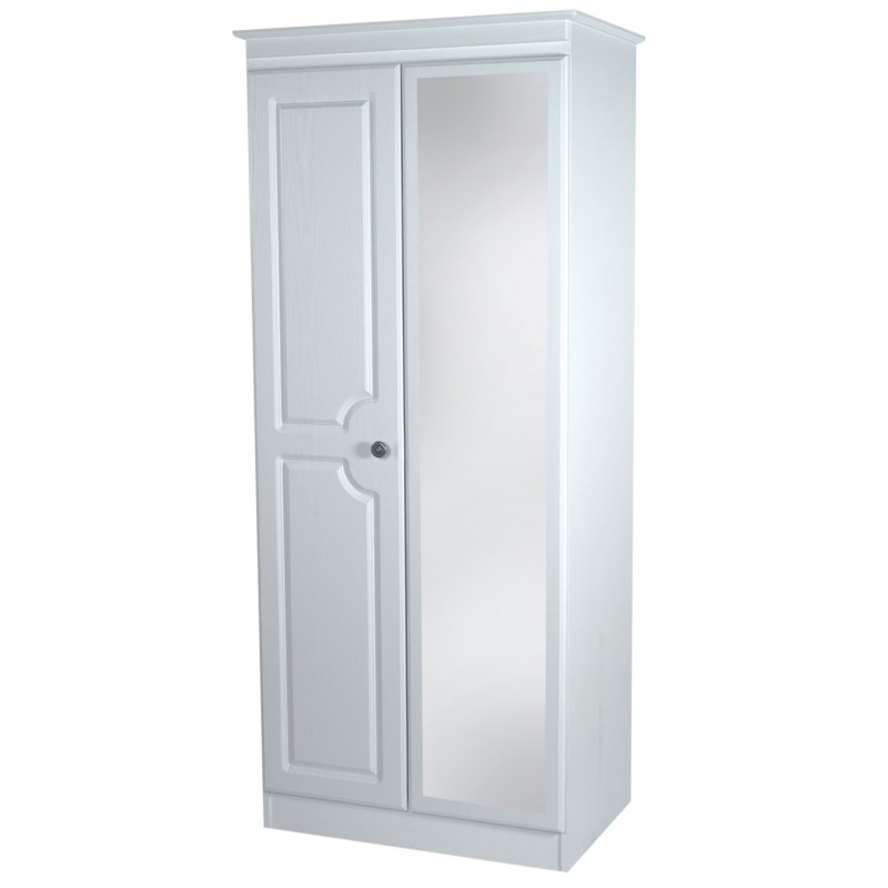 Pembroke 2 39 6 39 39 Mirror Robe Bedroom Furniture