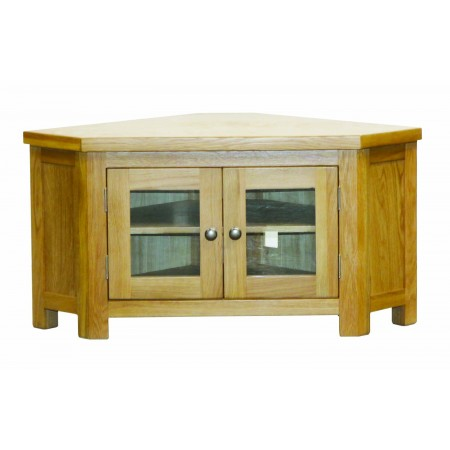Corner TV Unit with glass doors