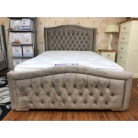 Morocco Double Fabric Bed