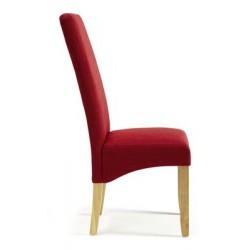 Merton fabric chair (light leg)