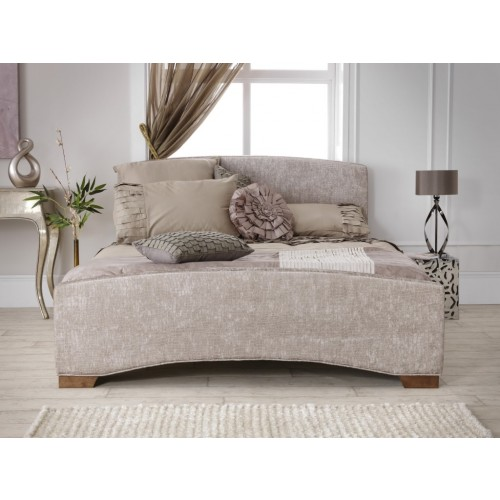 Anastasia fabric bed