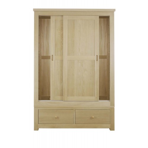 Sliding door double wardrobe