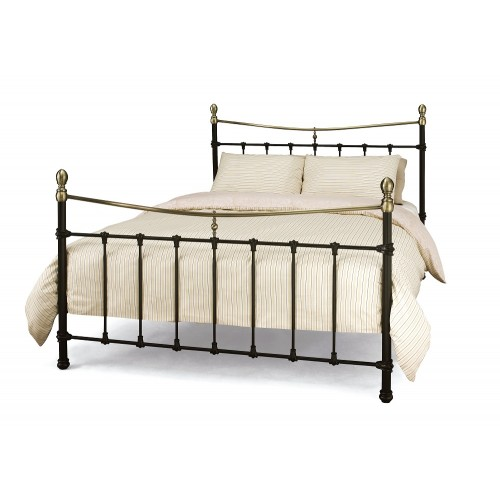 Edwardian metal bed