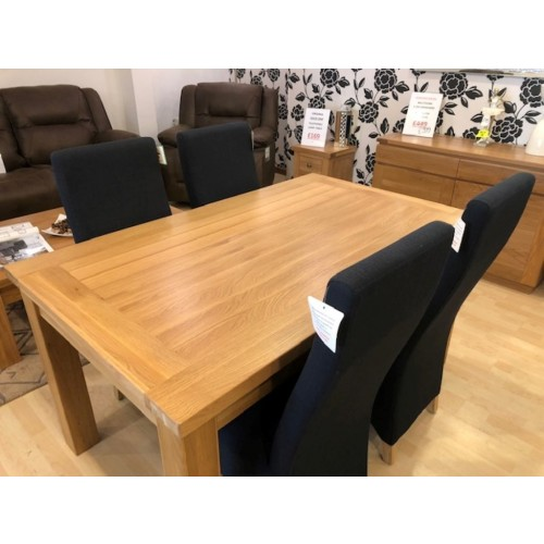 Virginia solid oak dining sets