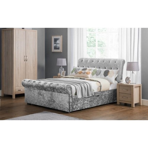 Verona 2 drawer double bed