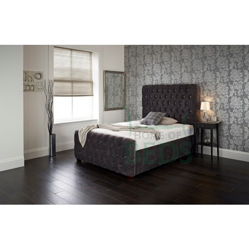 Victoria fabric bed